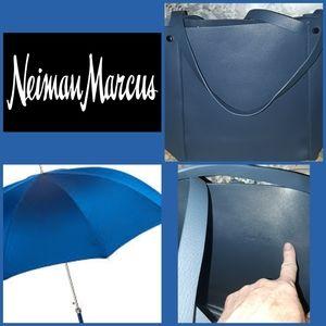 Neiman Marcus Leather Tote